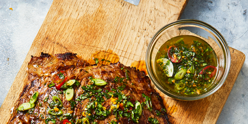 Orange-Spiked Chimichurri Is Going to Be Your New Favorite Summer Marinade