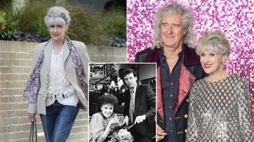 How old is Anita Dobson and who did she play in EastEnders?
