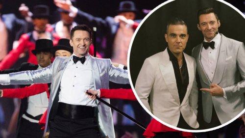 Robbie Williams will 'star in The Greatest Showman sequel with friend Hugh Jackman'