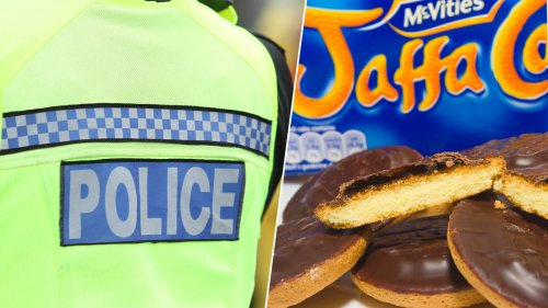 Policeman sacked after underpaying for Jaffa Cakes at charity stand