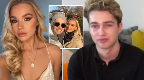 AJ Pritchard sat outside the hospital all night after girlfriend Abbie Quinnen suffered third-degree burns