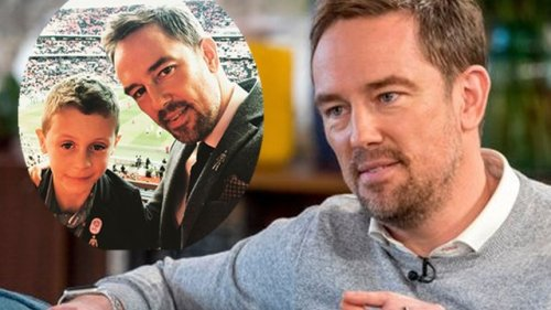 Simon Thomas Shares Heartbreaking Moment He Told His Son His Mum Died