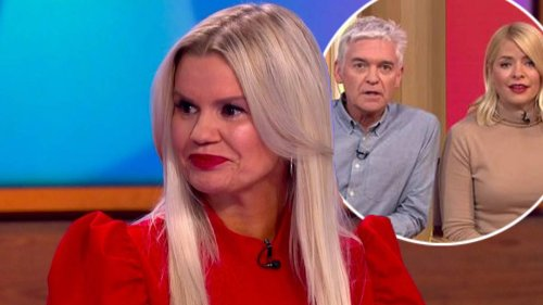 Kerry Katona speaks out on Phillip Schofield amid This Morning 'feud' rumours