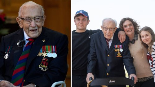 Captain Tom Moore's family launch fundraising challenge to mark his 101st birthday