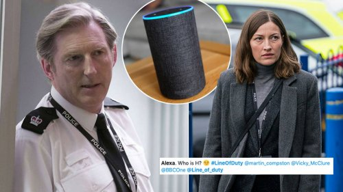 Line of Duty fans in hysterics at Amazon Alexa's response to 'who is H?'