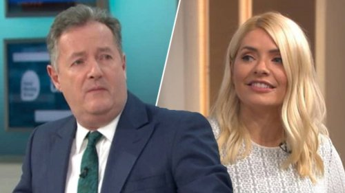 Holly Willoughby's brutal text to Piers Morgan after he suggested they host GMB together