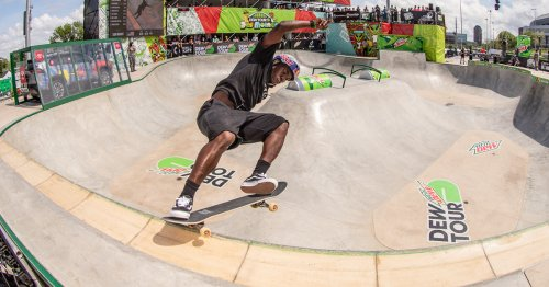 Video Highlights: Best of Men's Park Skateboarding   Dew Tour Des Moines 2021