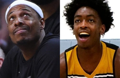 Zaire Wade reacts to reminder that Paul Pierce claimed Miami Heat would miss playoffs this season