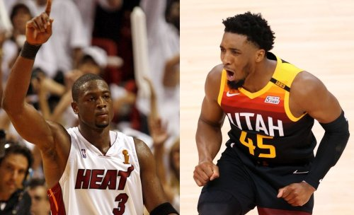LeBron James compares Donovan Mitchell to 2006 playoff Dwyane Wade