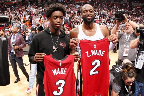 Dwyane Wade receives touching Father's Day tribute from his son Zaire