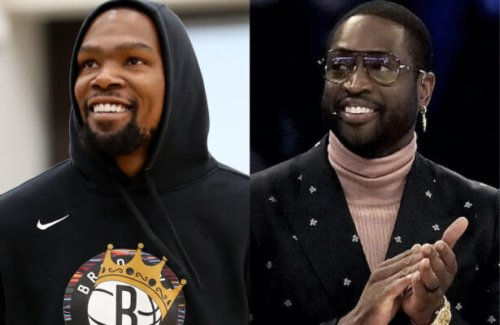 Dwyane Wade Reacts to Kevin Durant Investing in Company That Grew From $1.6 Billion to $100 Billion