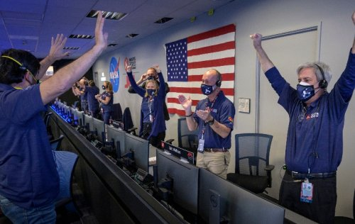 The 'Star Trek' Connection to the Perseverance Mars Landing