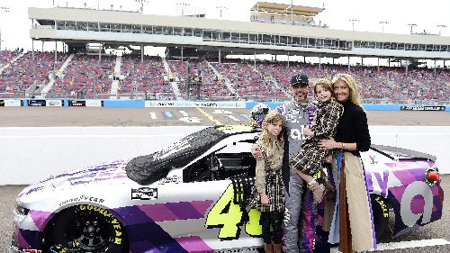7x NASCAR Champion Jimmie Johnson Celebrates 'Stuff Dreams Are Made Of' [LOOK]