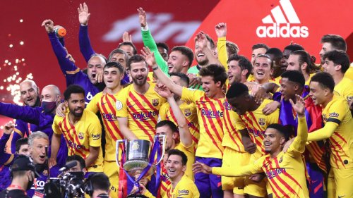 Dembele Trolled By Pique After Barcelona's Copa del Rey Final Win