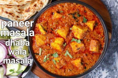 paneer masala recipe dhaba style | dhaba paneer curry | paneer gravy