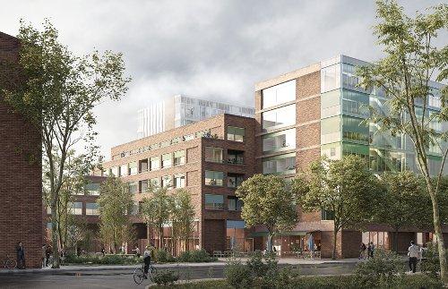 Neuentwicklung des Eckgrundstücks Lohbrügger Markt / Alte Holstenstraße