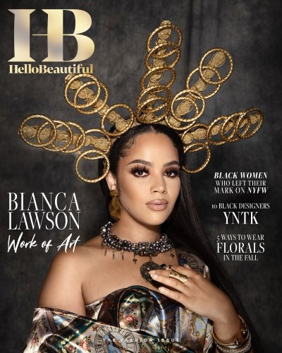 Bianca Lawson Covers HB's 'Fashion' Issue