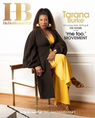 Tarana Burke Covers Our Special HelloBeautiful X MadameNoire Digital Cover