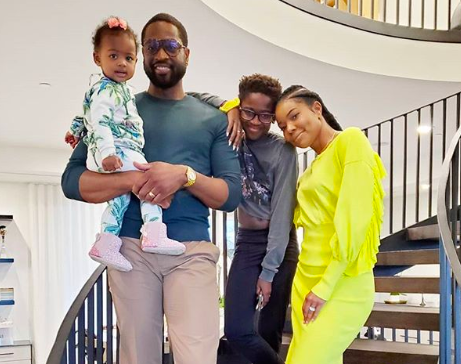 Gabrielle Union-Wade Celebrates Hubby Dwyane Wade In Sweet Father's Day Message: 'I Thank God Everyday'