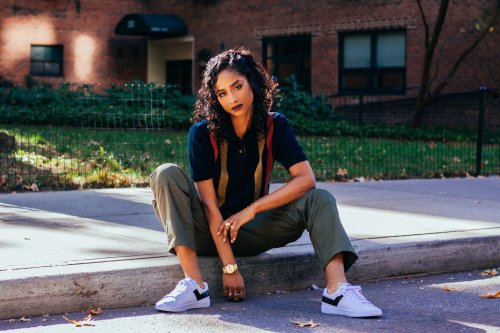 Vashtie Talks Motherhood, Style Inspirations, And Her Latest Sneaker Collaboration With Pine-Sol