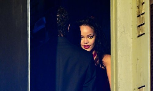 Rihanna Makes Denim Panties A Look During Her Date With A$AP Rocky