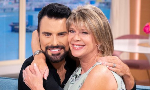 Ruth Langsford reacts to Strictly's Rylan Clark-Neal's surprise body transformation – see photo