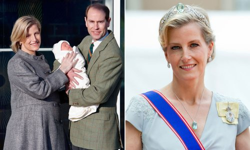 Revealed: The Countess of Wessex's birth stories with Lady Louise and James Viscount Severn