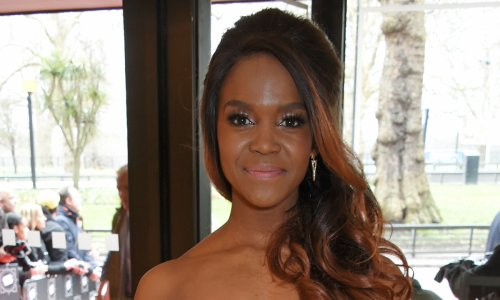 Oti Mabuse turns heads in shimmering gown and tiara