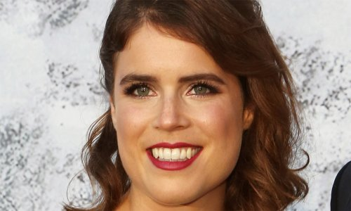 Princess Eugenie spotted at football match in one seriously chic dress