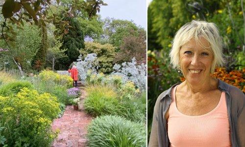 Carol Klein's never-ending garden is breathtaking - see it here
