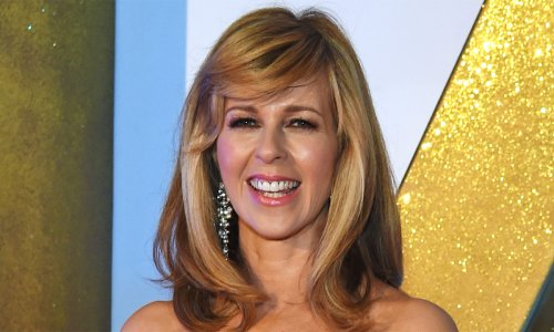 Kate Garraway chooses a royal dress for her night out in London