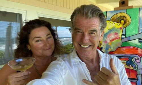 Pierce Brosnan shares candid photo of wife Keely - and sparks big reaction