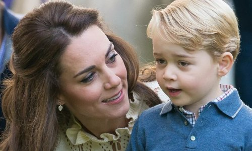 Prince George looks ultra-smart in his £23 Boden chino shorts