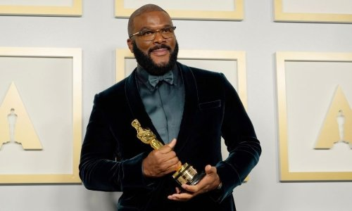 'Refuse hate': Tyler Perry gives a powerful speech as he accepts Oscars humanitarian award
