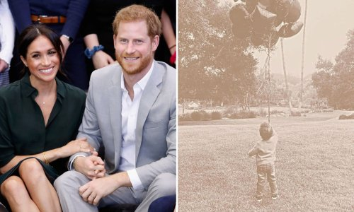 Prince Harry and Meghan Markle release adorable picture of Archie to celebrate birthday