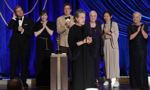 The touching meaning behind Frances McDormand's Oscars acceptance speech howl