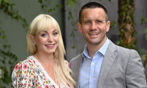 Pregnant Helen George looks glowing in chic floral maxi during Chelsea Flower Show visit with Jack Ashton