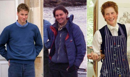 Royals as teenagers: Kate Middleton, Prince Harry, Princess Eugenie and more pictured in their younger years