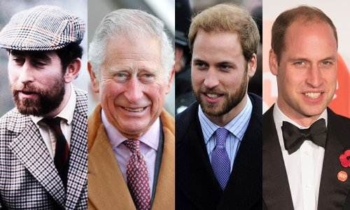 11 times royal men have sported beards and facial hair