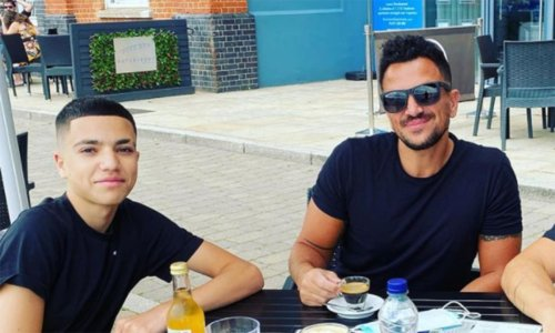 Peter Andre's son tells fans he doesn't 'want to die' as he details health battle