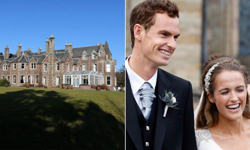 Andy Murray's £1.8million majestic hotel that hosted his family's weddings – inside
