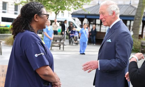 Prince Charles personally thanks hospital staff who treated Prince Philip