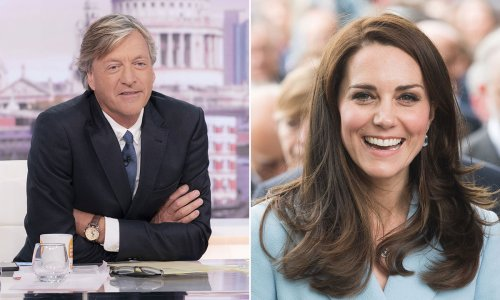 GMB's Richard Madeley shocks fans with comment on Kate Middleton's size - watch