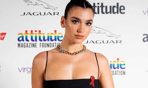 Dua Lipa's figure-flaunting bikini top has fans in a tailspin