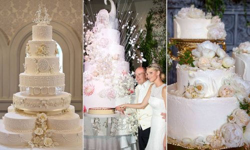 15 most beautiful royal wedding cakes: The Queen, Prince William, Meghan Markle & more