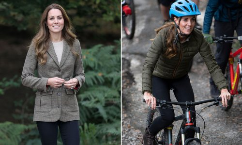 Daredevil Kate Middleton goes abseiling and mountain biking in Cumbria - live updates