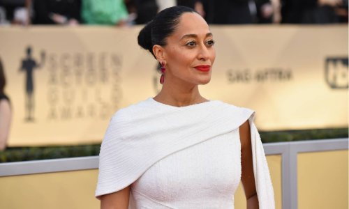 Tracee Ellis Ross' feather-covered look might be her wildest yet