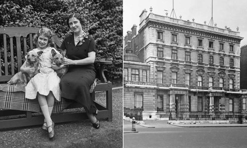 The Queen's incredible childhood home that was bombed – inside