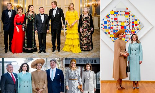 King Abdullah II and Queen Rania's Netherlands state visit: All the best photos | HELLO! CA - HELLO! Canada
