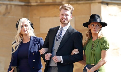 Kitty Spencer's sister confirms mum Victoria's attendance at wedding with stunning pictures